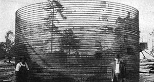 Hy-Rib - Hy-Rib constructed water tank reservoir