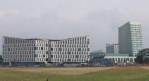 Hyllievång - Modern architecture in Hyllievång