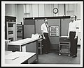 IBM 1800 computer at Exxon Research and Engineering Company laboratory 1971.jpg