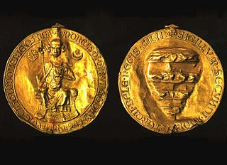 golden bull, or edict, issued by King Andrew II of Hungary
