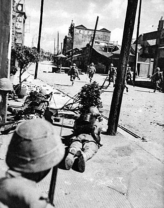 Battle of Changsha (1939) - Japanese soldiers during the battle of Changsha