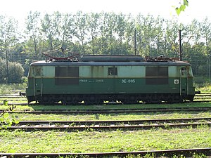 PKP class ET21 - 3E-005 locomotive used in mining industry
