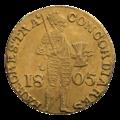 INC-2930-r Нидерландский дукат русской чеканки 1805 г. (реверс).png