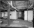 INTERIOR, LOOKING SOUTHWEST - F. E. Booth Company Pier, Bolinas, Marin County, CA HABS CAL,21-BOLI,1-10.tif
