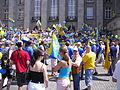 IV Marsz Autonomii, pikieta pod urzedem Wojewodzkim w Katowicach.jpg