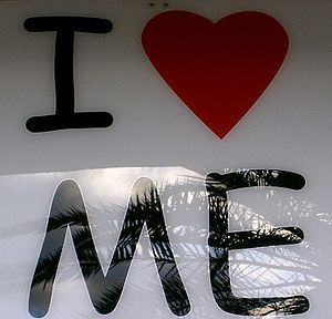 "Heart symbol / Love symbol ""I love me"""