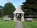 Ickham, Kent, UK. Church of St John The Evangelist, the gate. - panoramio.jpg