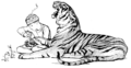 Illustration (a) inset at page 6 of Indian Fairy Tales (1892).png