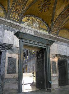 Imperial Gate Hagia Sophia 2007a