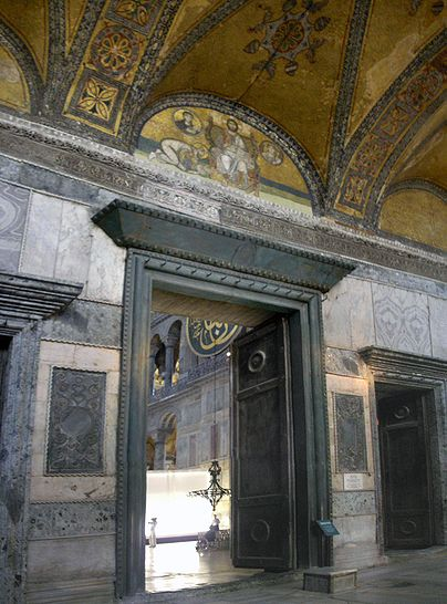 Image:Imperial Gate Hagia Sophia 2007a.jpg