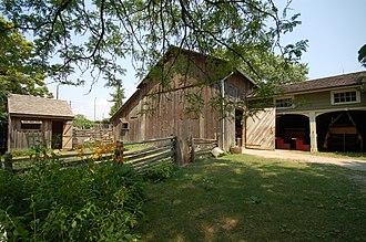 Black Creek Pioneer Village - Image: In the shade (1247127124)