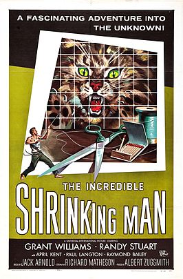 Aanplakbiljet voor The Incredible Shrinking Man
