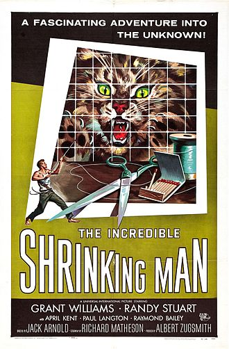 The Incredible Shrinking Man - Theatrical release poster by Reynold Brown
