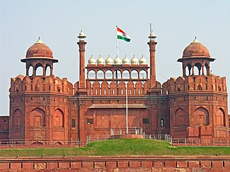 Flag of India - Indian Flag at the Red Fort, Delhi