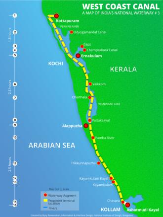 National Waterway 3 - Image: Indian National Waterway 3