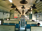 Indian Railways Second class seating compartment for journeys less than 200 KM.jpg