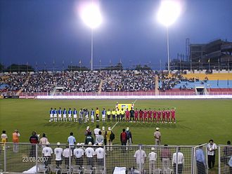 Sport in Delhi - 2007 ONGC Nehru Cup India vs  Syria