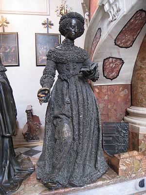 Kunigunde of Austria - Statue in the Hofkirche, Innsbruck.