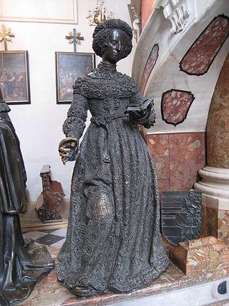 Kunigunde of Austria - Statue in the Hofkirche, Innsbruck.