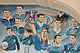 Ibrox 'blue room' mural of past players