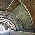 Interieur, overzicht van teruggeplaatste vakken gewelfbeschot in noordertransept - Alkmaar - 20374129 - RCE.jpg