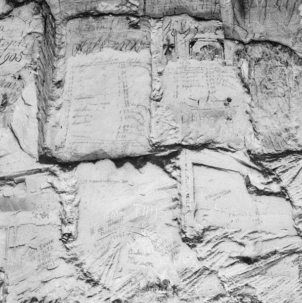 File:Interieur gangenstelsel, telmarkering blokbrekers 1914 - Maastricht - 20322089 - RCE.jpg