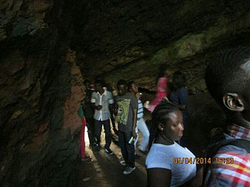Interior of Sea Cave at Komenda, Central Region, Ghana.jpg