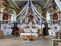 Interior of Zemale church 2021 2.jpg
