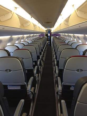 Embraer E-Jet family - Four-abreast seating