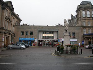 Inverness railway station - Inverness railway station