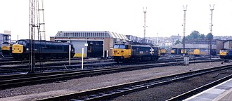 Bristol Bath Road depot - Bristol Bath Road TMD in 1984