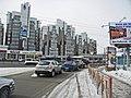 Irkutsk. February 2013. Cinema Barguzin, regional court, bus stop Volga, Diagnostic Center. - panoramio (14).jpg