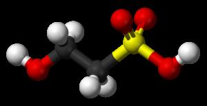 Isethionic acid - Image: Isethionic acid 3D balls B