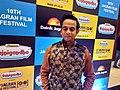 Ishtiyak Khan in a film fastival.jpg
