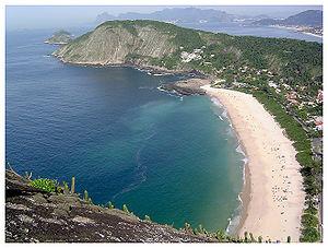 Niterói - Itacoatiara beach.