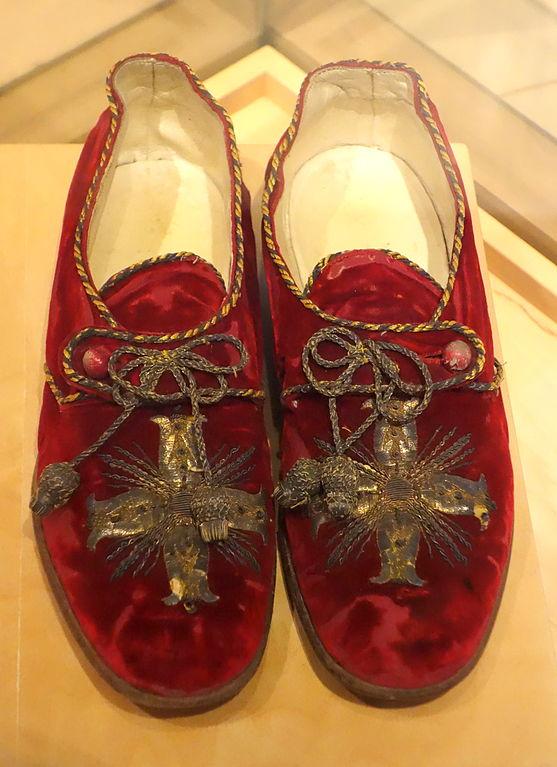 Red Italian Shoe And Bag Set