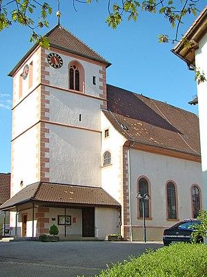 Ittlingen - Ittlingen Protestant church
