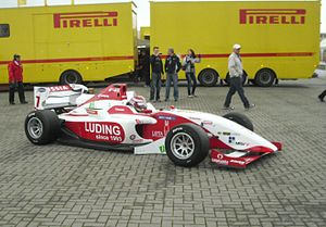 Ivan Samarin - Samarin at the Oschersleben round of the 2010 FIA Formula Two Championship season.