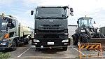 JASDF Dump Truck (UD Quon, 47-2352) front view at Shizuhama Air Base September 25, 2016.jpg