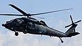 JASDF UH-60J(08-4571) fly over at Iruma Air Base November 3, 2014 01.jpg