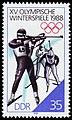 JO d'hiver 1988 - Biathlon (timbre RDA).jpg