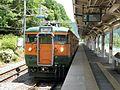 JRE 115-T1040 at Naganohara-Kusatsuguchi Station 20170528.jpg