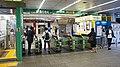JR Chuo-Main-Line・Yamanote-Line Yoyogi Station West Gates.jpg