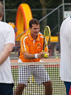Jacco Eltingh Dutch tennis player