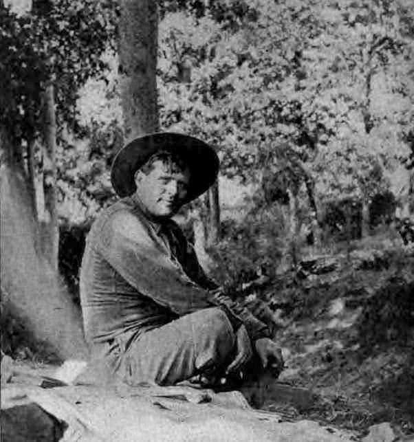 Jack London 1914 Sunset Magazine