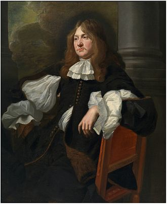 Edward Hyde, 1st Earl of Clarendon - Portrait of Edward Hyde by Jacob van Reesbroeck, 1649-1653