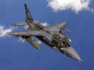 SEPECAT Jaguar strike aircraft