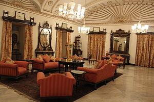 Jai Vilas Mahal - Image: Jai Vilas Palace Night at the Museum (8)