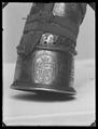 Jakthorn, enligt inskriptionen tillverkat av horn från den sista uroxen i Europa - Livrustkammaren - 79182.tif