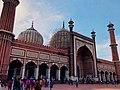 Jama Masjid under construction.jpg